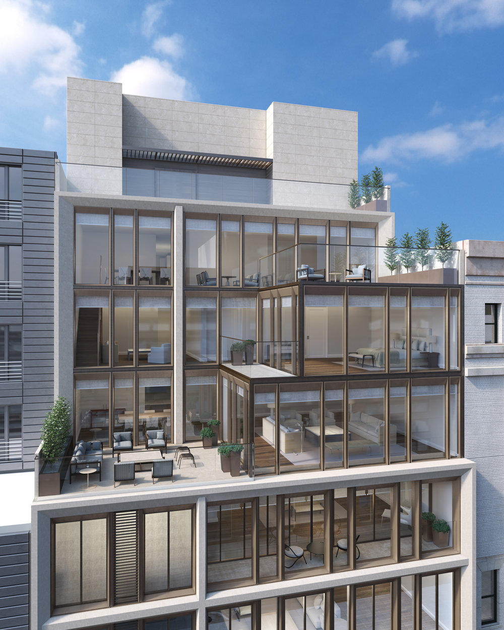 Penthouses Exterior