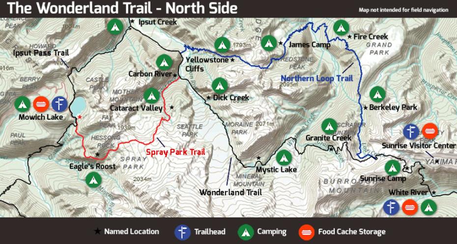 The WONDERLAND TRAIL: MOUNT RAINIER (ONE OF BEST TRAILS IN AMERICA)