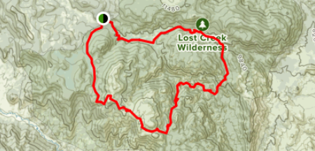 How to get to Lost Creek Wilderness Loop in bailey, COLORADO.