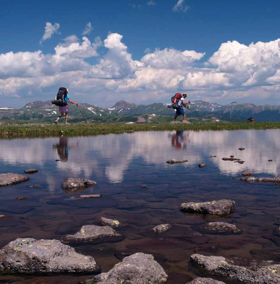 PHOTOS OF THE BEST HIKING TRIPS AND TRAILS IN COLORADO.