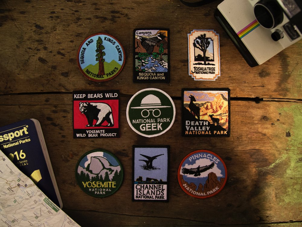 The Best National parks to visit in america : Top list for you.  These badges above represent just a handful of places we've visited.