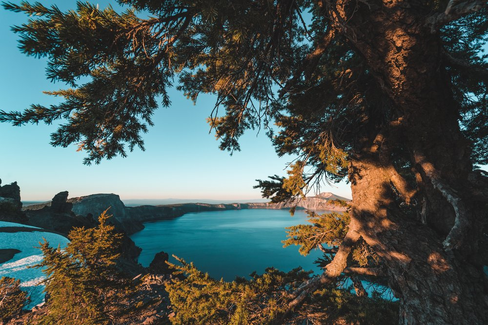 list of the best national parks in the pacific northwest : #2 Crater lake national park