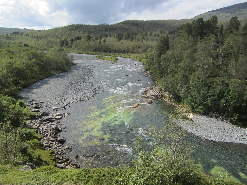 best backpacking trips and hiking in Sweden: kungsleden trail