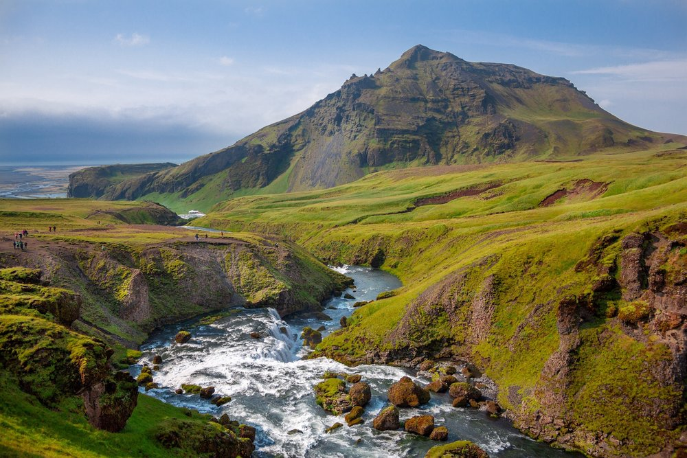best backpacking trips and hiking in iceland: laugavegurinn.