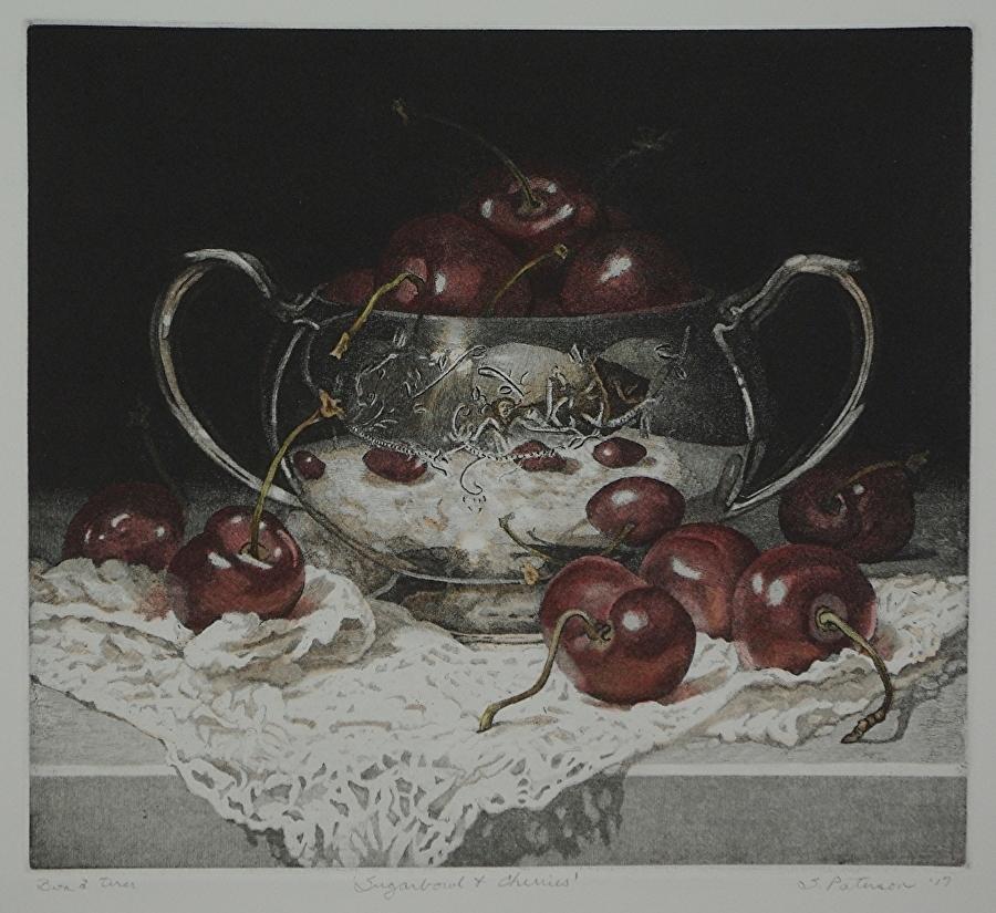 Sugar Bowl and Cherries
