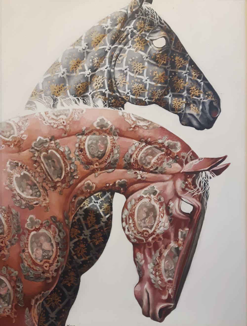 Tapestry Horses