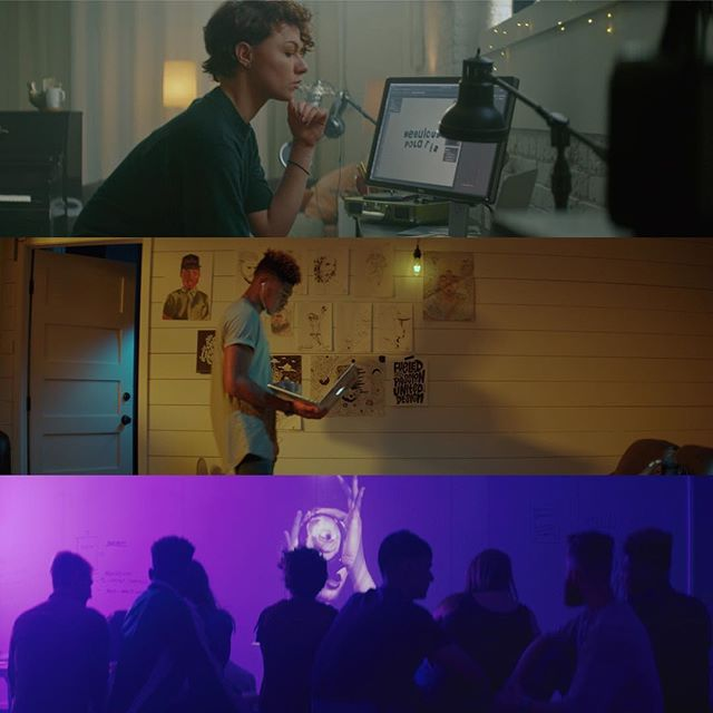 Framegrabs from a shoot with the @themodernedu.  Thanks to the killer crew and team from The Modern College of Design!! Directed by Rachel Mosher  #framegrab #cinematography #directorofphotography #colorist #kowaanamorphic #design #themoderncollegeofdesign