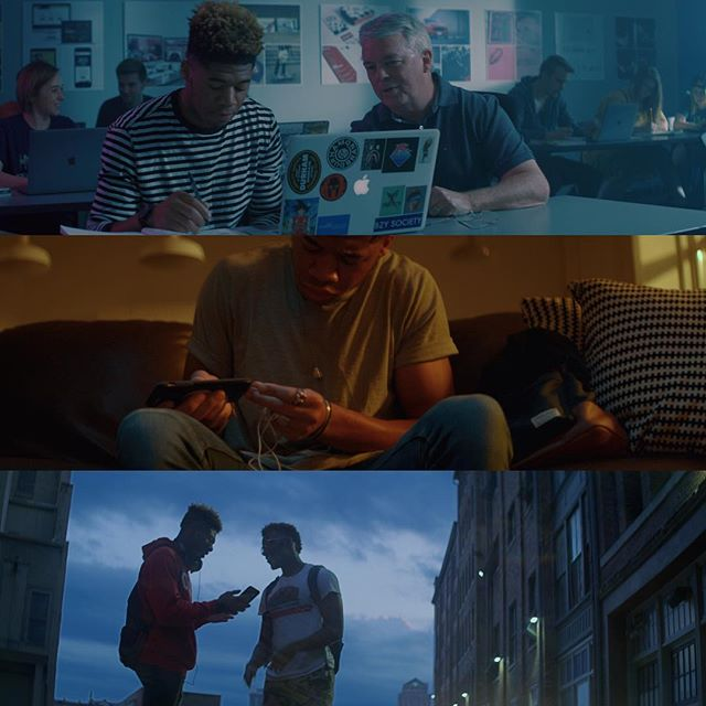 Grabs from a recent shoot for @themodernedu produced by @southernskyfilms  #framegrabs #cinematography #directorofphotography #kowaanamorphic #vibes