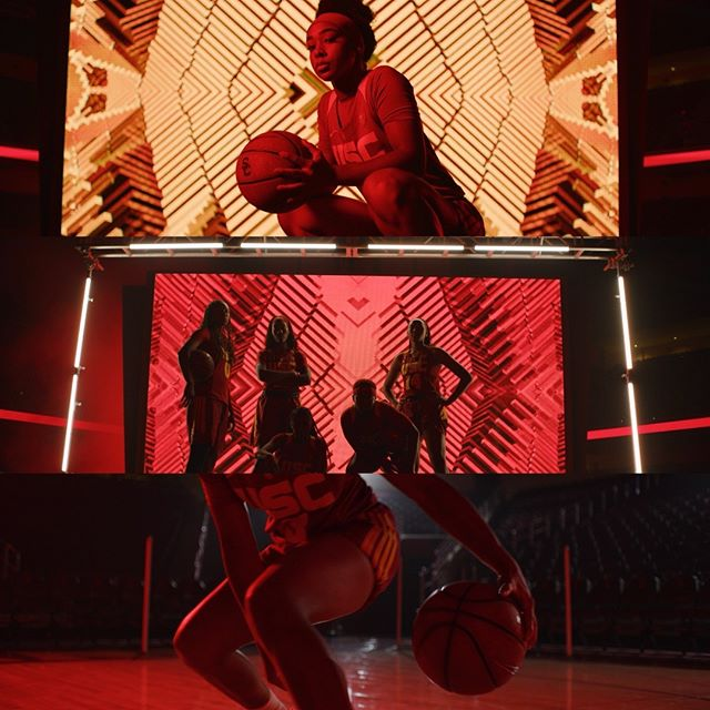 Framegrabs from a shoot for the USC basketball teams this year. Produced by @vwse_productions.  #frames #framegrab #cinematography #usc