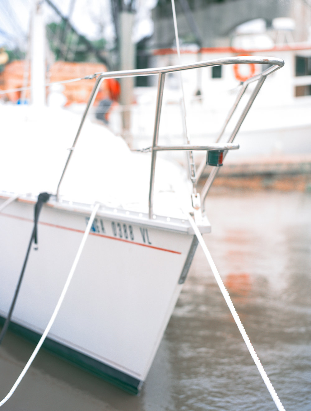 The event is held for the shrimping industry but leisure boats participate as well