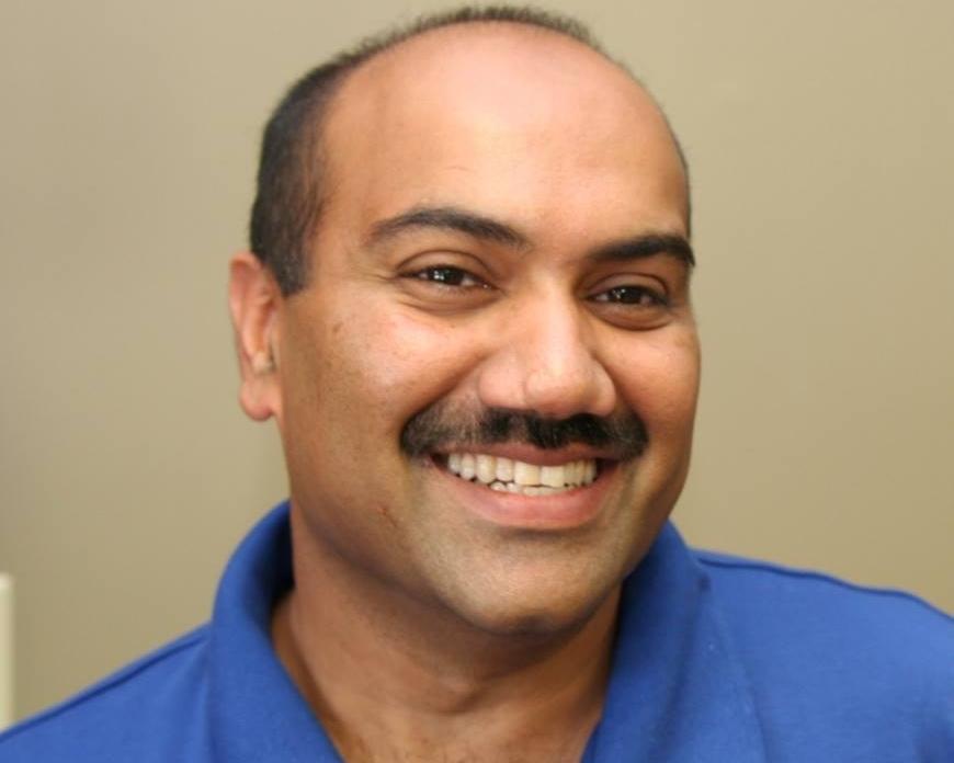 Mark Adam, pharmacist &owner of Mark's Health Mart Pharmacy, Sylva, NC