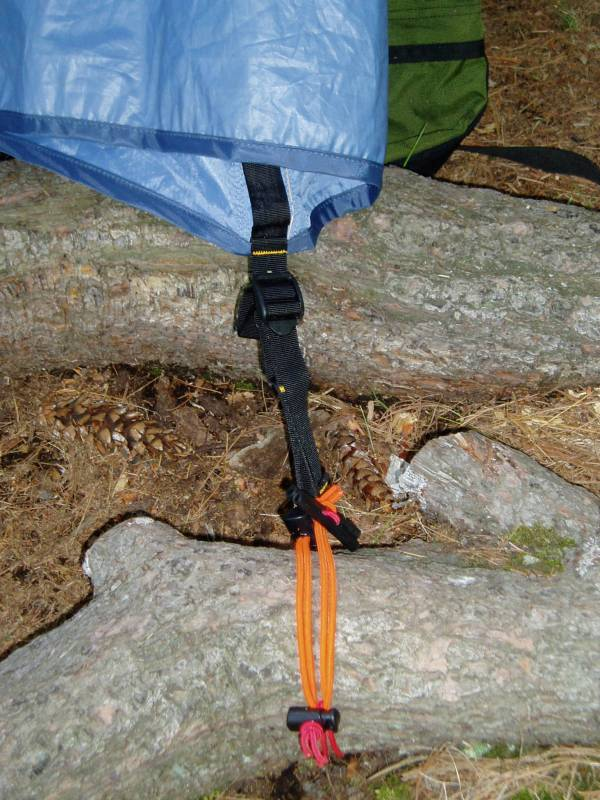 Bungee Deelee Bob tent skate to tree branch or root at c&site. & Instant Tent Stake Extension u2014 Old Scout Outdoor Products