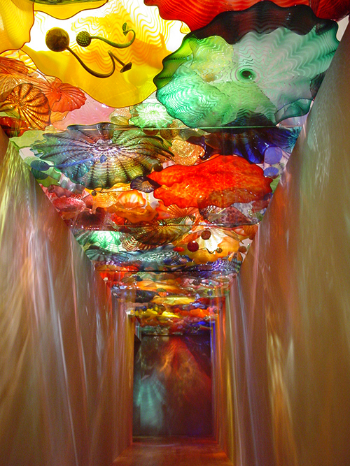 Dale Chihuly, Oklahoma Persian Ceiling , 2002 Photo by Joseph Mills Photo courtesy of Oklahoma City Museum of Art