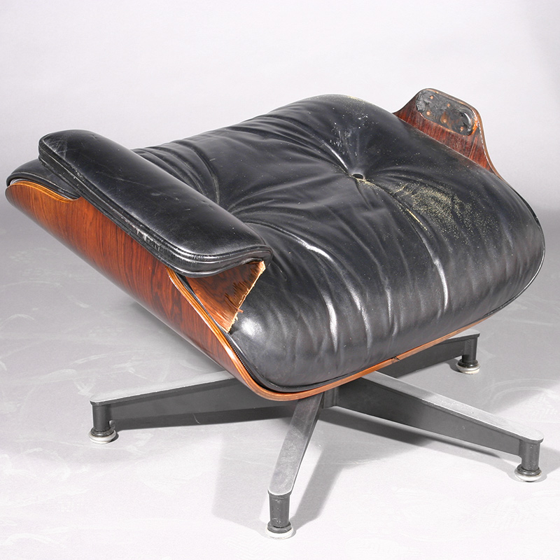 Eames chair broken in to parts
