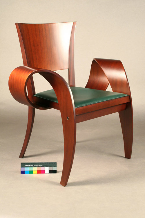 """Patty Diffusa"" chair restored by Bernacki & Associates, Inc."