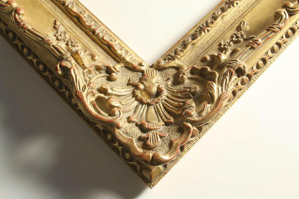 Louis XV revival art art frame corner piece.
