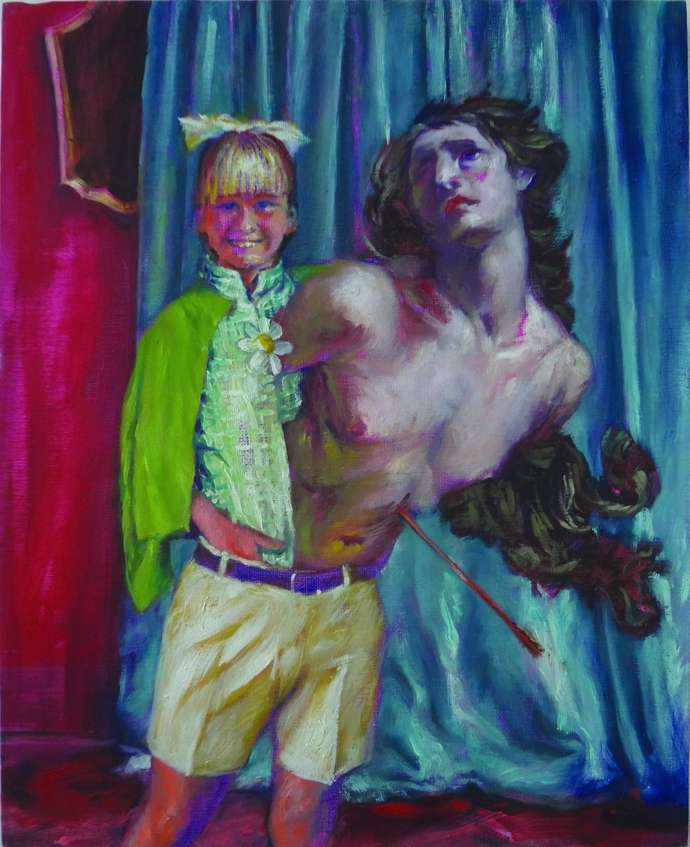 They are St. Sebastian 2017, 20 x 16""