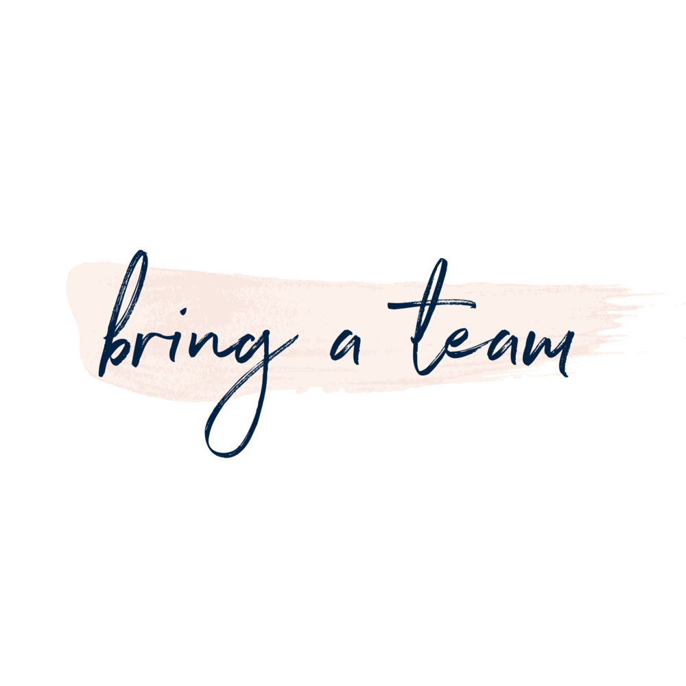 Copy of Copy of bring a team