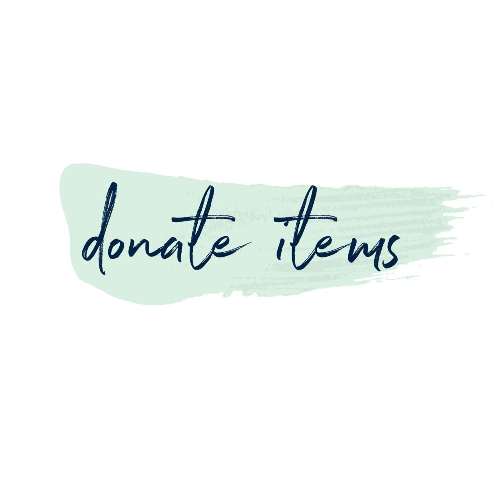 Copy of donate items
