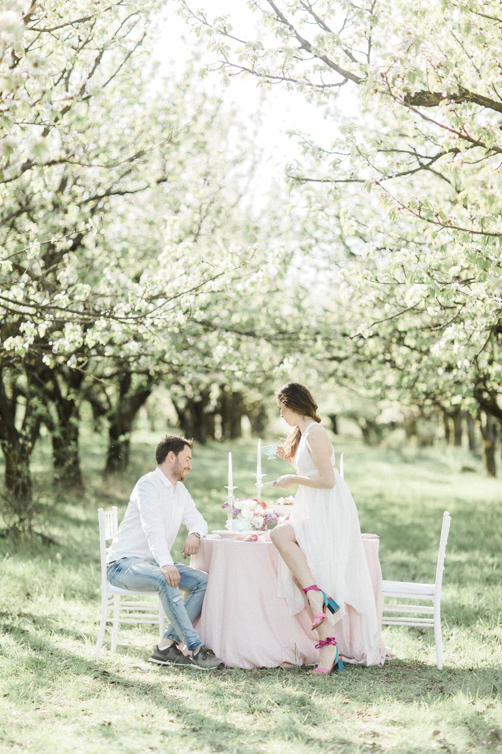 Spring Engagement.  .