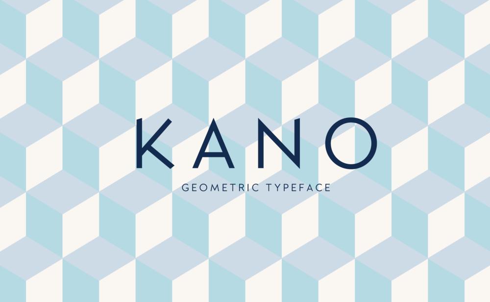 Kano Typeface / Typeface Design - Designing Brand New Typeface