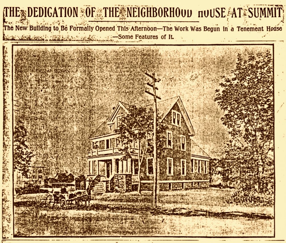1904 · Opening of The Neighborhood House -  The   Summit Herald