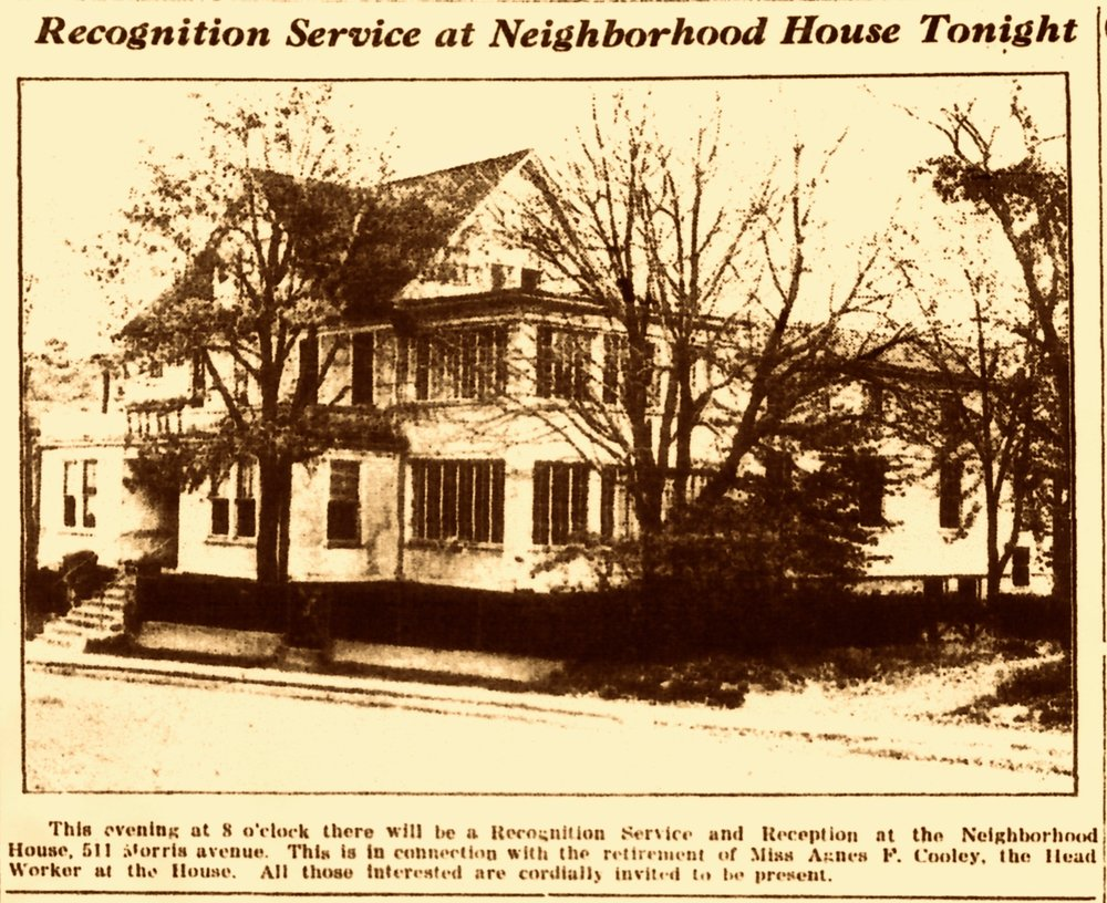 1937 · Party at The Neighborhood House -  The Summit Herald and Record