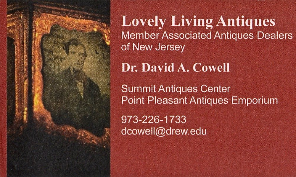 LOVELY LIVING ANTIQUES   David Cowell became an antiques dealer in the 1970s, concentrating in 18th and 19th century furniture, lighting, Staffordshire china and figures, coin and Sterling silver, pewter and decorative accessories. Trading as Lovely Living Antiques, a division of Lovely Living Interiors, David specializes in the interpretation and restoration of period houses.