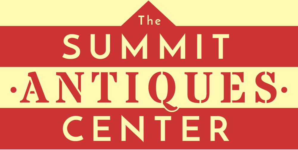 Our new logo for The Summit Antiques Center is a stylized graphic representation of our building at 511 Morris Avenue.
