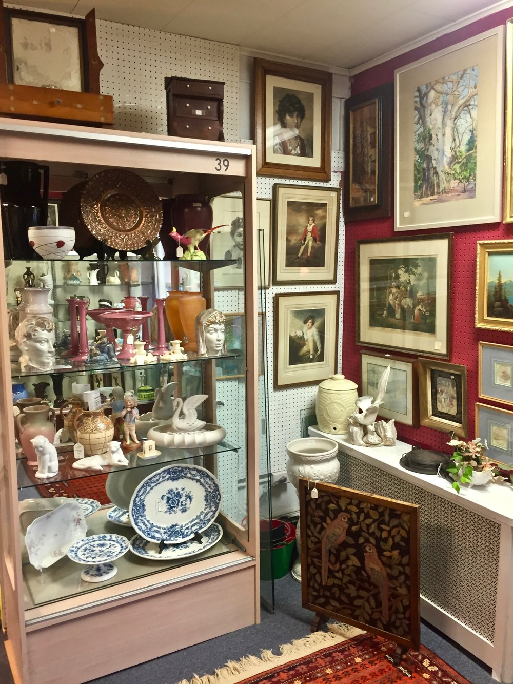 GEORGE & JUNE   George and June have been in the antiques business for more than 35 years, and at The Summit Antiques Center since 2003. They offer general antiques and art and can be found on the 2nd floor.