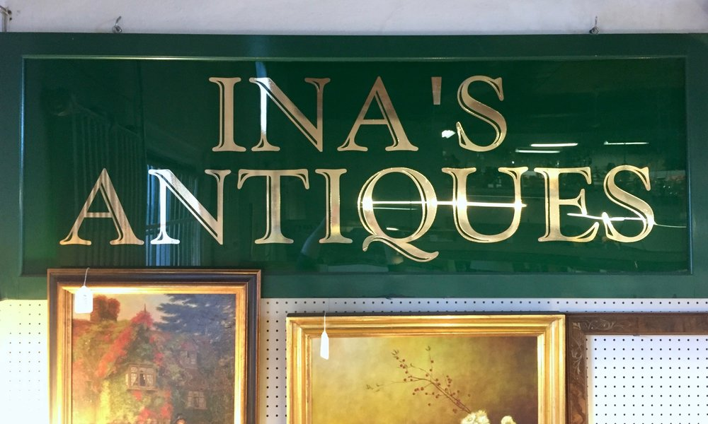 INA'S ANTIQUES   Ina offers fair dealings and courteous service, with over 35 years experience in the antiques business. Ina's Antiques features jewelry, Sterling silver, paintings, collectibles, clocks, toys, oriental rugs, furniture and bric-a-brac. She also offers appraisals and consignments, and runs house content sales. Call Ina at (908) 578-4118 and visit  inasantiques .