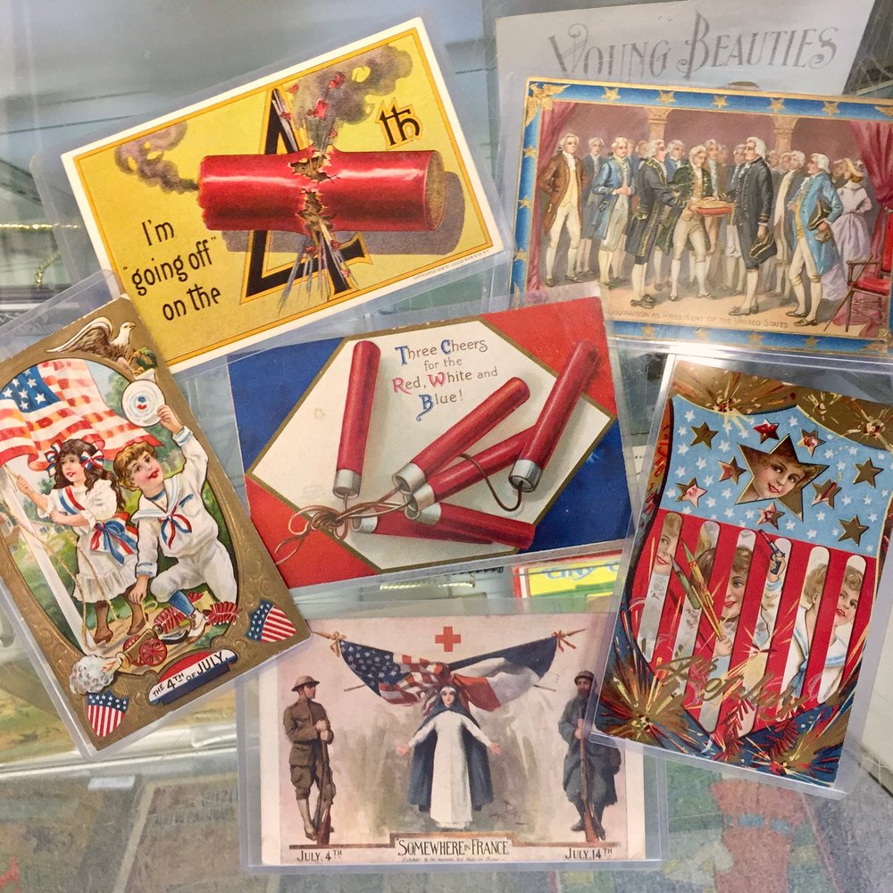 Independence Day Postcards