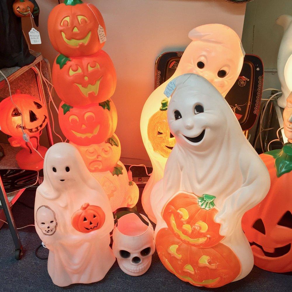 Vintage Blow Mold Halloween Decorations