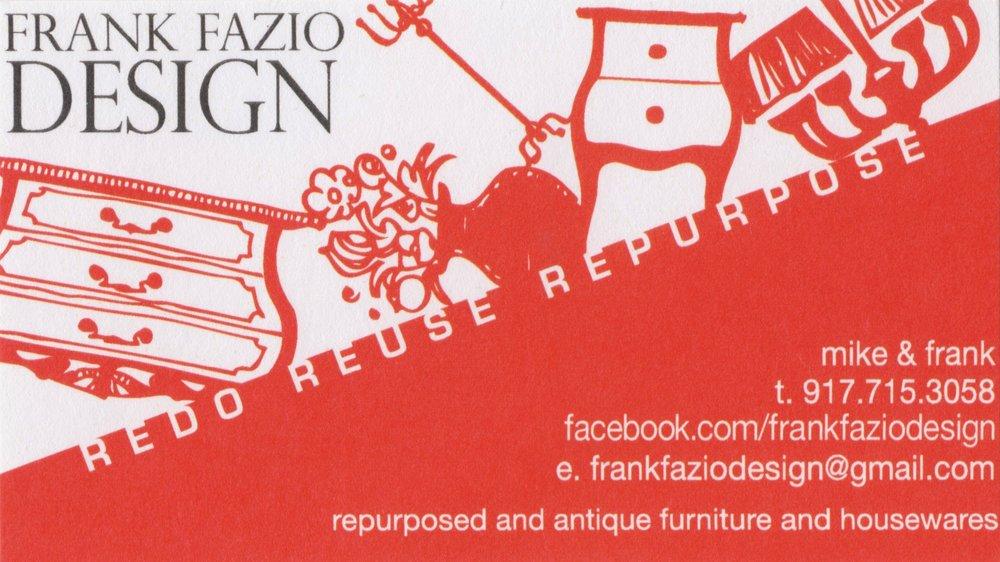 FRANK FAZIO DESIGN