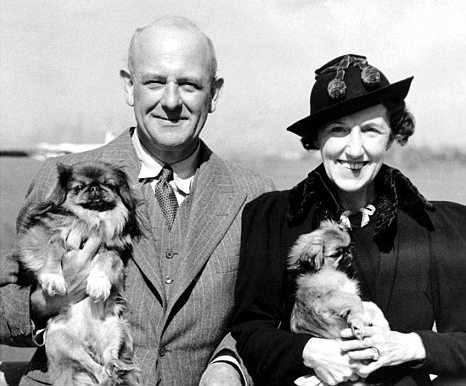 P.G. Wodehouse with his wife Ethel