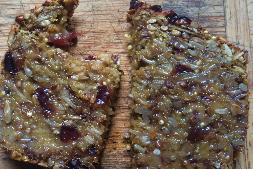 this is what you want for breakfast | seedy bread: a gluten free miracle, from a raisin + a porpoise