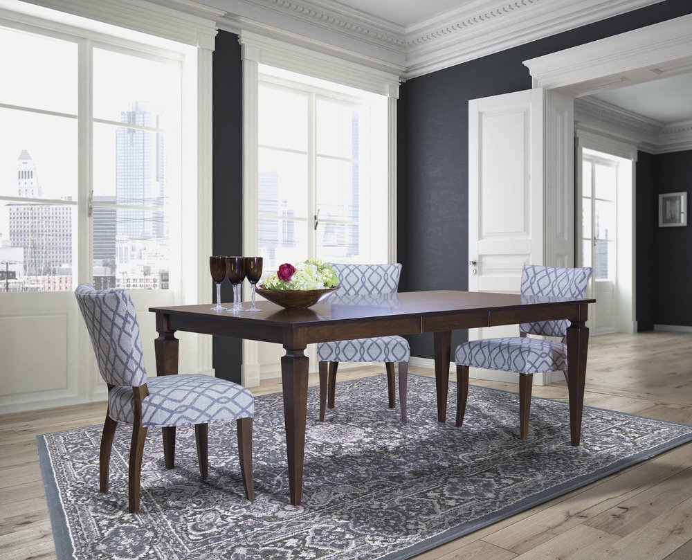 Saloom - Saloom Furniture Company is a premier manufacturer of American-made contemporary, transitional and country dining furniture.