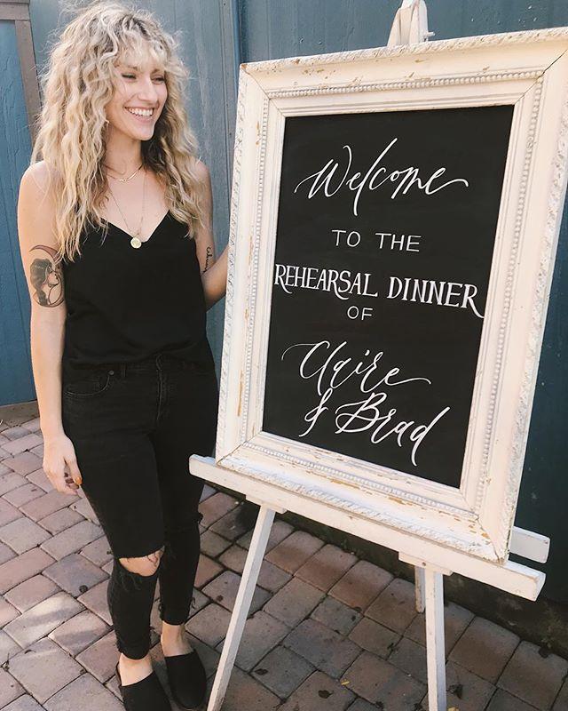 Chalkboard cheesin' 👌