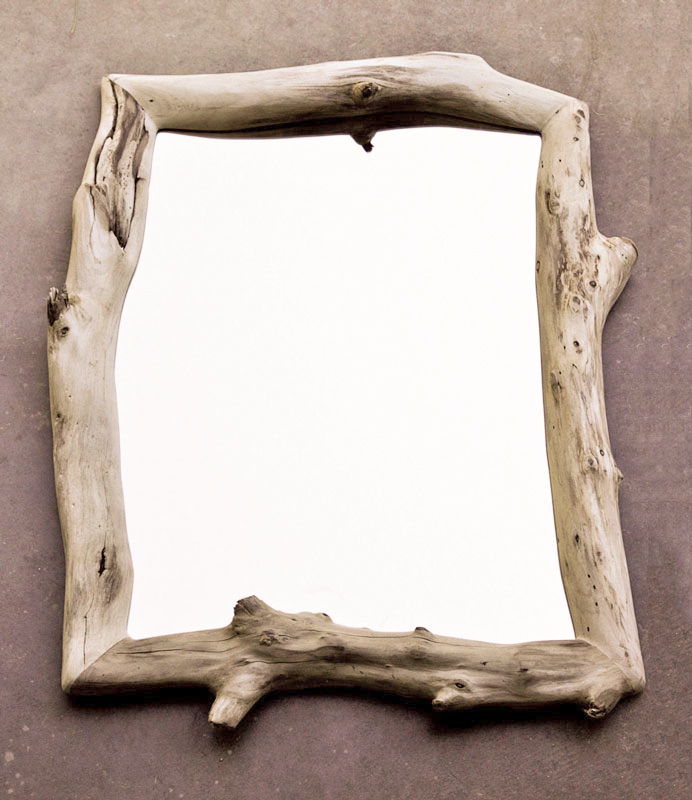 Eucalyptus Framed Mirror - 30\