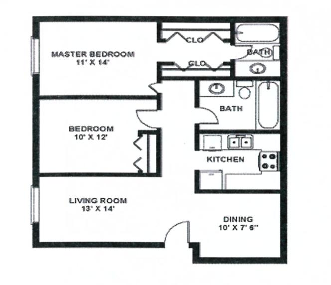 2x1.5 (945 sq. ft.)