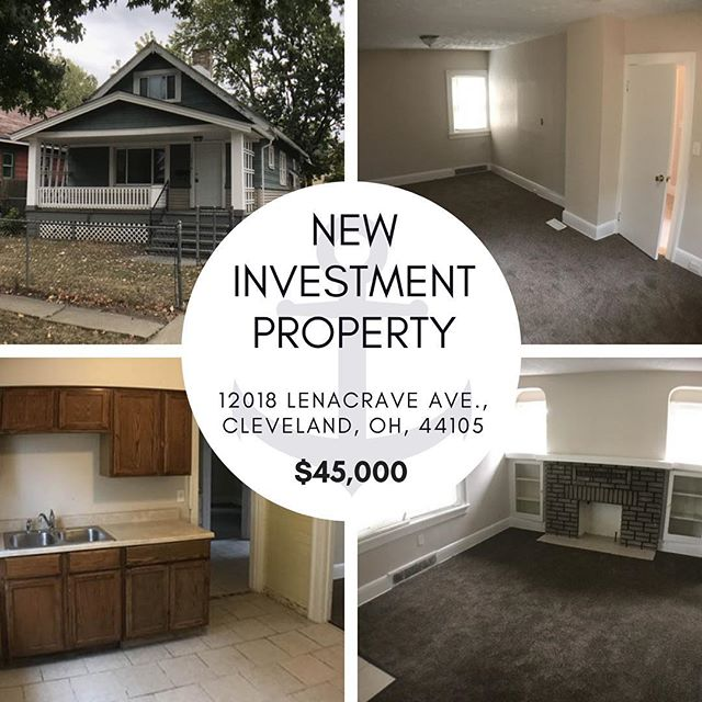 Looking for your first turnkey property? Check out this adorable home on our website, click the link in our bio and then head over to the properties page to see more information on it!