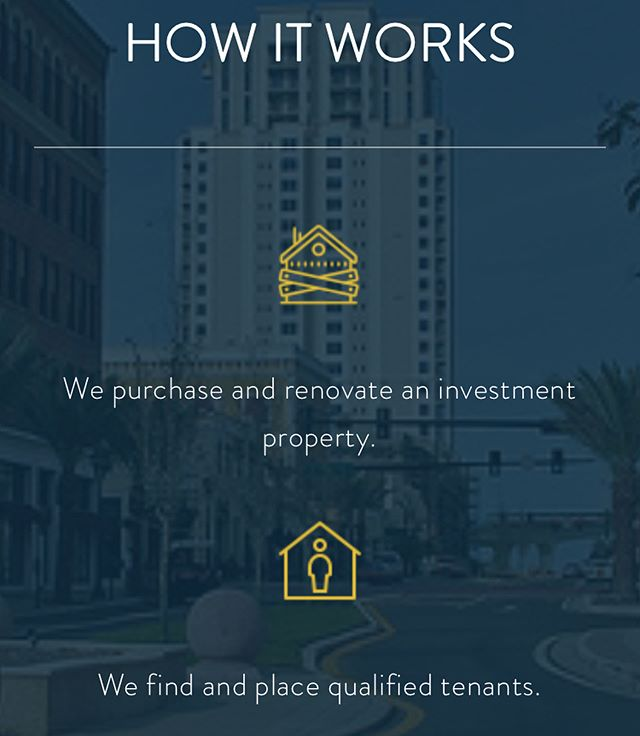 Check out our website to learn more about how turnkey investing works! Click the link in our bio and it will take you to our main page! You can see stuff like how it works, out team and our properties in our portfolio!