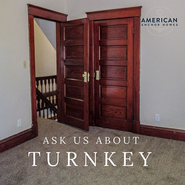 Do you have any questions about what turnkey is? Feel free to email us or send us a direct message about any turnkey questions and we I'll get back to you with answers shortly!