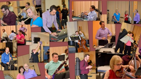 ENSEMBLE ECLECTICA'S FIRST READING SESSION  IN 2016