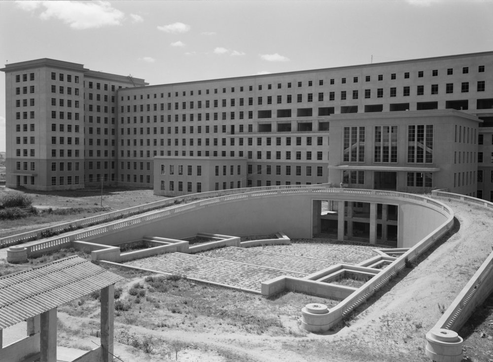 Construção do Hospital de St. Maria