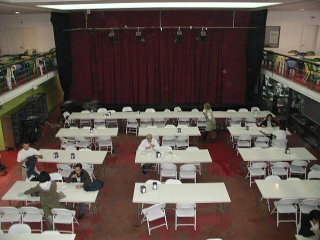 Sala de Alunos nos anos 90