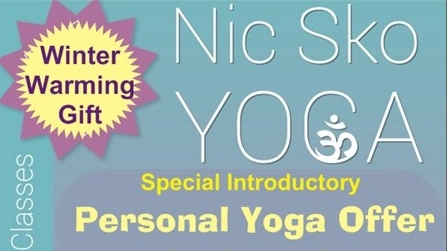 I'm proud to offer the magical gift of yoga - If you're lucky enough to have a voucher code or special offer and would like more details, please contact me directly