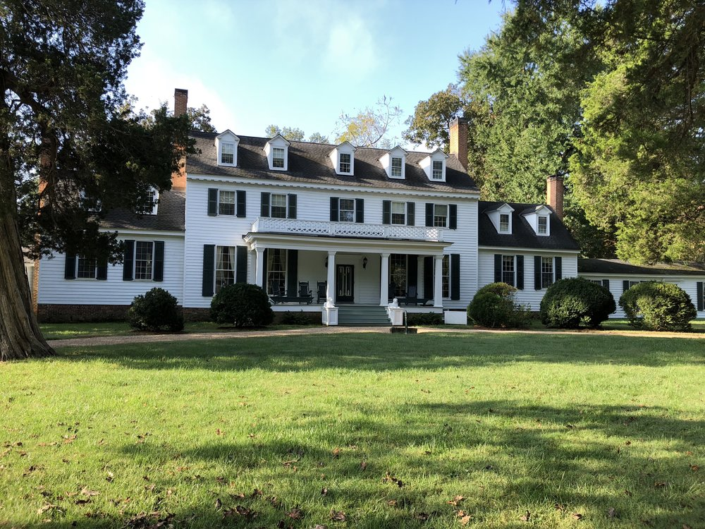 This is John Tyler's home at Sherwood Forest Plantation. I highly recommend visiting this site near Charles City, Virginia. It is the only President's home that has remained continuously in the same family right up to the present day.