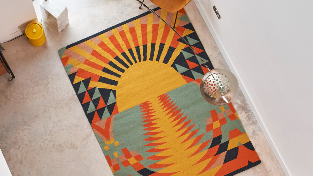 Artist designed rugs -