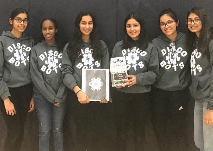 Discobots Girls Team